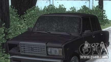 2107 Golpeado para GTA San Andreas