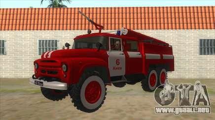 131Н ZIL AC-40 de Fuego para GTA San Andreas