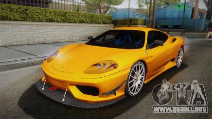 Ferrari 360 Challenge Stradale v3.1 para GTA San Andreas
