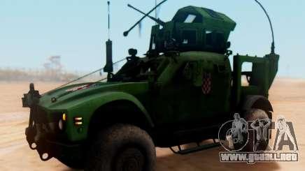 Oshkosh M-ATV croata de Vehículos Blindados Textura para GTA San Andreas