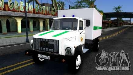 GAZ-3309 del servicio penitenciario Federal de Rusia para GTA San Andreas