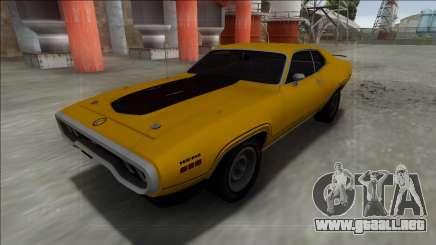 1972 Plymouth GTX para GTA San Andreas