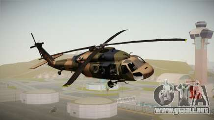 Atak 129 Heli para GTA San Andreas