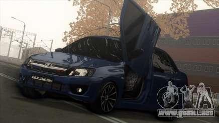 Lada Granta Sedan para GTA San Andreas