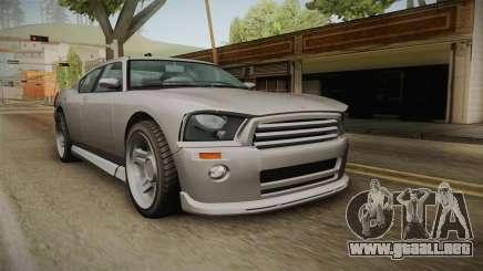 EFLC TBoGT Bravado Buffalo Supercharged para GTA San Andreas