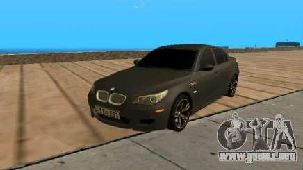 BMW M5 E60 Armenian para GTA San Andreas