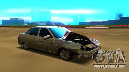 Lada Priora 2170 silver para GTA San Andreas