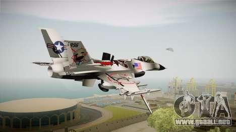 FNAF Air Force Hydra Puppet para GTA San Andreas left