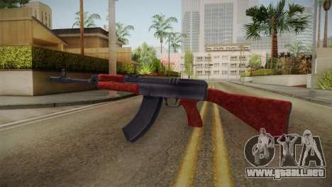Sa. Vzor 58 para GTA San Andreas segunda pantalla