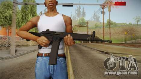HK-33 Assault Rifle para GTA San Andreas tercera pantalla