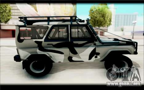 UAZ Hunter para GTA San Andreas left