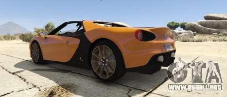 GTA 5 Pininfarina Ferrari Sergio vista lateral izquierda