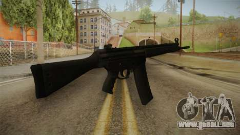 HK-33 Assault Rifle para GTA San Andreas segunda pantalla