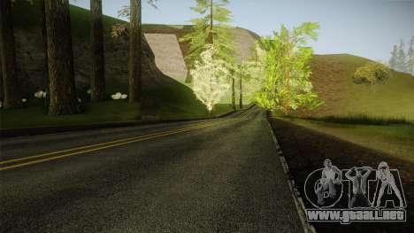 8K Country Road Textures para GTA San Andreas tercera pantalla