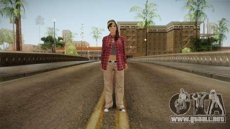 GTA 5 Vagos Chola Reskinned para GTA San Andreas