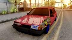 VAZ 21099 BlackOnyx para GTA San Andreas
