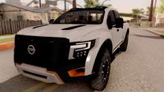 Nissan Titan Warrior 2017 para GTA San Andreas