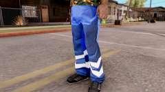 Pantalón azul para GTA San Andreas
