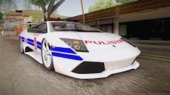 Lamborghini Murcielago P640 Bulacan Police para GTA San Andreas