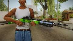 Green Rifle para GTA San Andreas