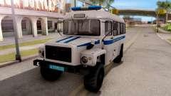 """KAvZ-39766 """"Sadko"""" Autorización De La Policía para GTA San Andreas"""