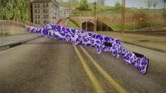 Tiger Violet Shotgun 1 para GTA San Andreas