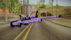 Tiger Violet Sniper Rifle para GTA San Andreas