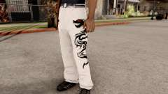 Dragon Style Pants para GTA San Andreas
