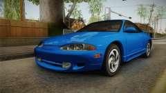 Mitsubishi Eclipse GSX 1995 Dirt HQLM para GTA San Andreas