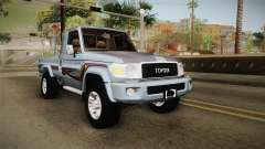 Toyota Land Cruiser (J79) 2016 para GTA San Andreas