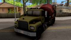 Mack RD690 Cement Mixer Truck 1992 para GTA San Andreas