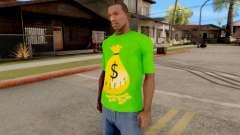T-Shirt Money para GTA San Andreas