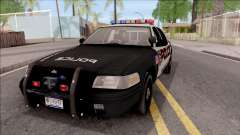 Ford Crown Vitoria High Speed Police para GTA San Andreas