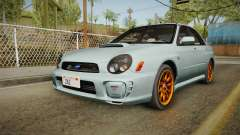 Subaru Impreza WRX Tunable para GTA San Andreas