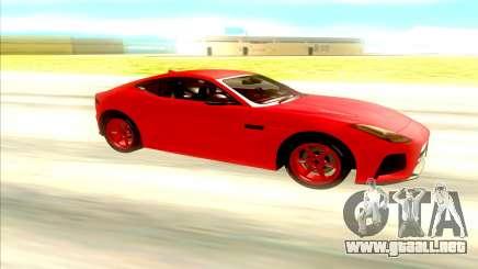 Jaguar F Type SVR para GTA San Andreas