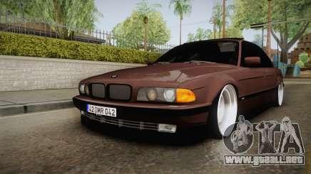 BMW 730i E38 Danker para GTA San Andreas