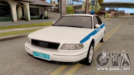 Audi A8 Russian Police para GTA San Andreas