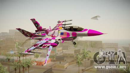 FNAF Air Force Hydra Funtime Foxy para GTA San Andreas