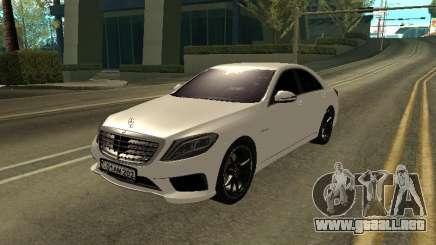 Mercedes-Benz S63 AMG Armenian para GTA San Andreas