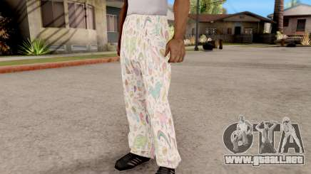 Pantalones de pijama para GTA San Andreas