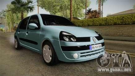 Renault Clio 1.6 16v Hatchback para GTA San Andreas