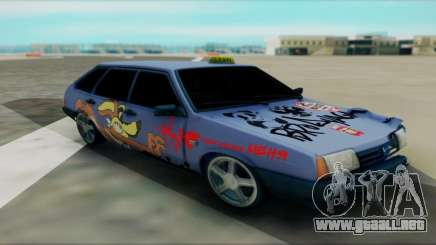 2109 turquesa para GTA San Andreas