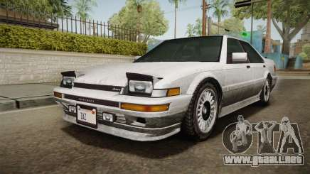 GTA 4 Dinka Hakumai Tuned Bumpers SA Style para GTA San Andreas