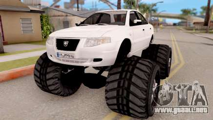 IKCO Samand Soren Monster para GTA San Andreas