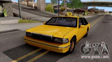 Taxi New Texture para GTA San Andreas
