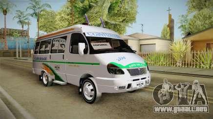 GAZelle 3221 Cointrasur para GTA San Andreas