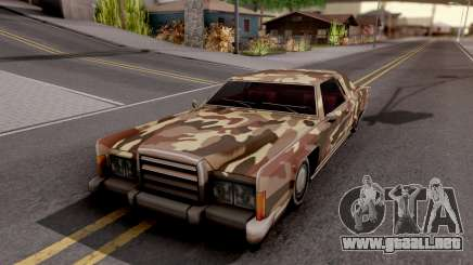 New Paintjob for Remington v2 para GTA San Andreas