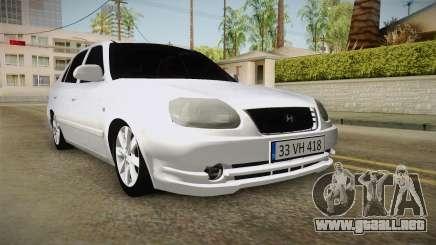 Hyundai Accent GLE para GTA San Andreas