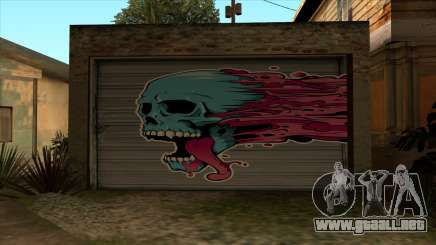 HD la imagen en el garaje para GTA San Andreas