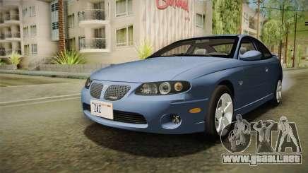 Pontiac GTO Tunable para GTA San Andreas